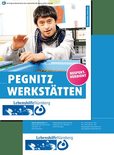 Folder Pegnitz Werkstätten