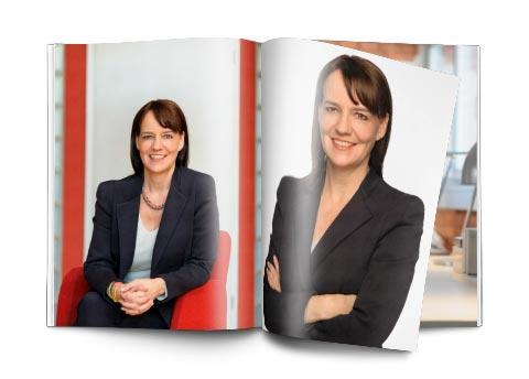 Imagefotografie für die Imagebroschüre und Internetauftritt für Coach und Mediatorin Annette Kuhr