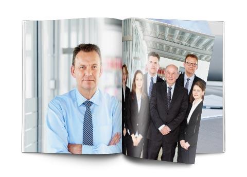 Imagefotografie für Volkmer Management