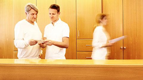 Imagefotografie für Internistische Hausarztpraxis Weikert