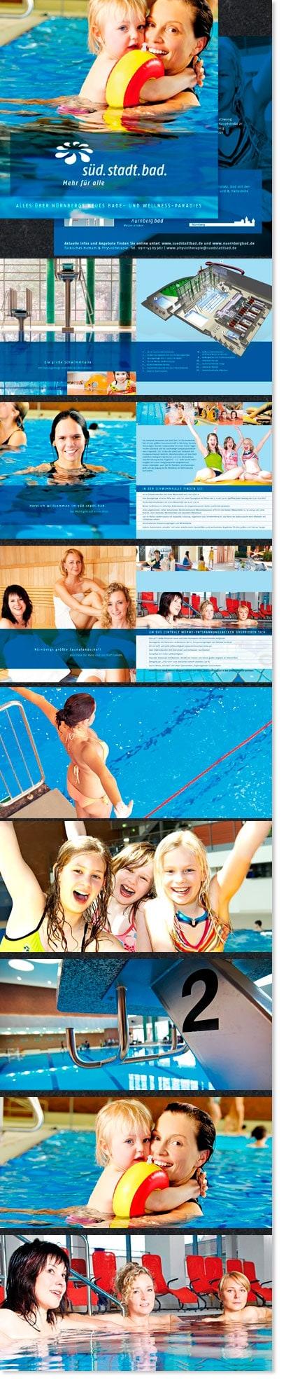 Editorial Fotografie für süd.stadt.bad. / Stadt Nürnberg