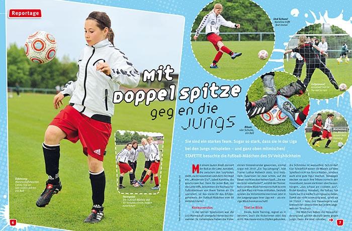 Fotoreportage Fürth, Nürnberg und Erlangen für das Kindermagazin Stafette