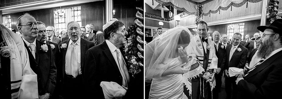 jüdische Hochzeit in Brighton