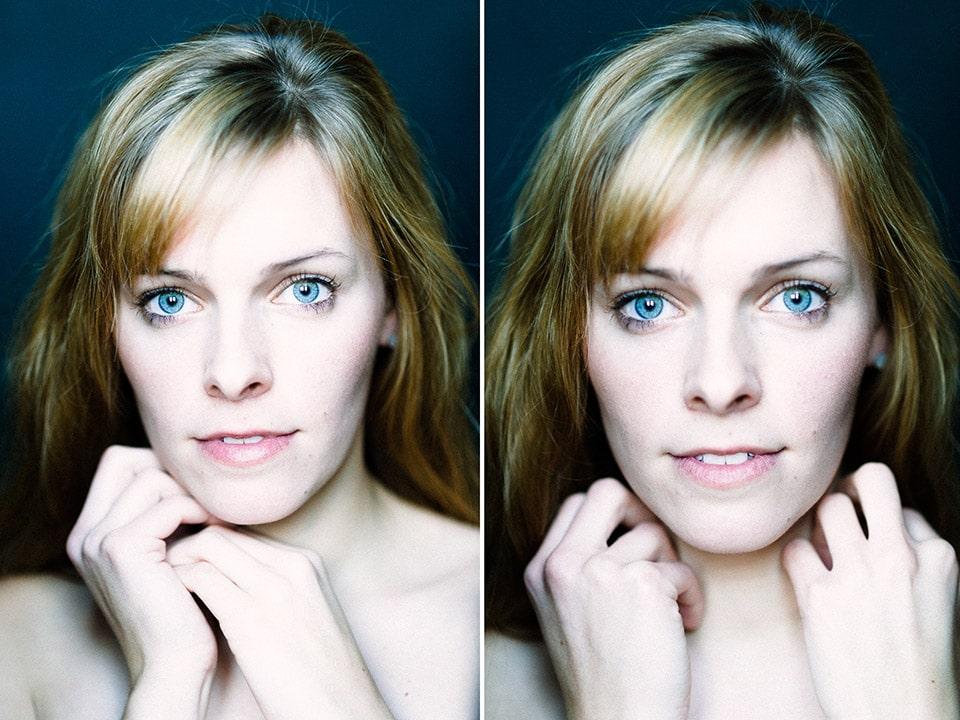 Portraitshooting mit Daniela im Fürther Studio