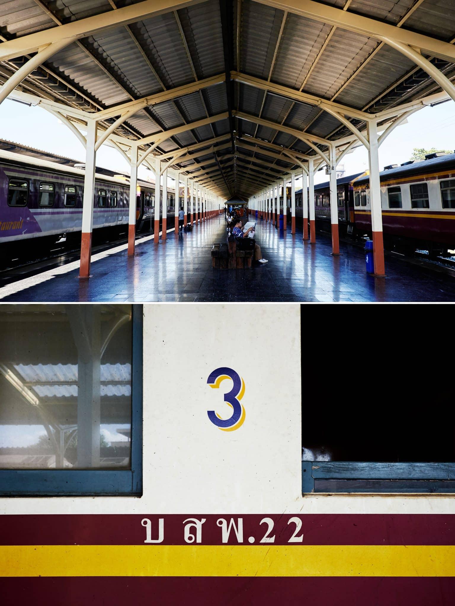 Reisereportage Nordthailand - im Nachtzug nach Bangkok