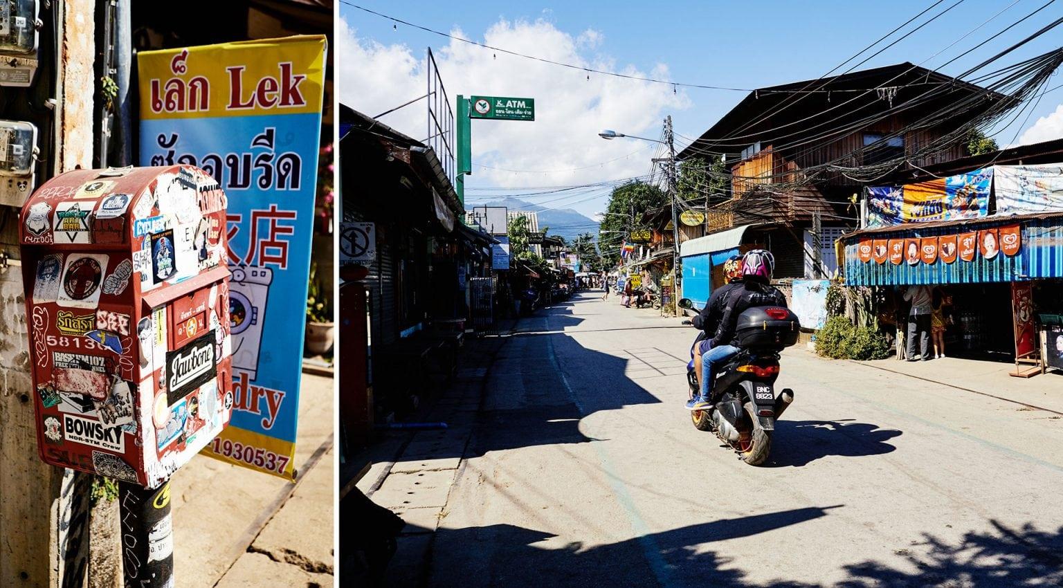 Klaus Gruber auf einer Rundreise in Pai, Nordthailand