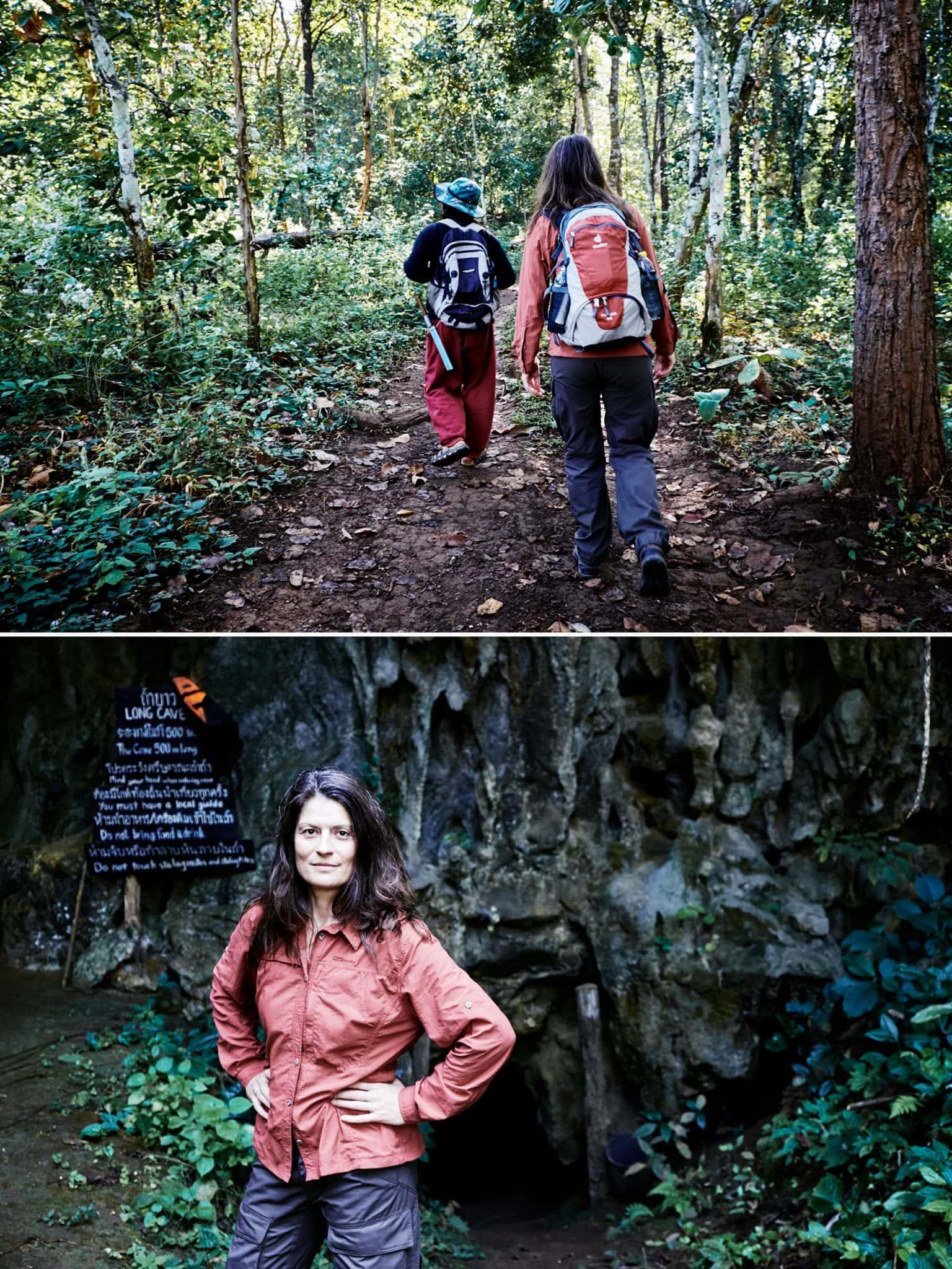 Rundreise Nordthailand, Wanderung im Dschungel