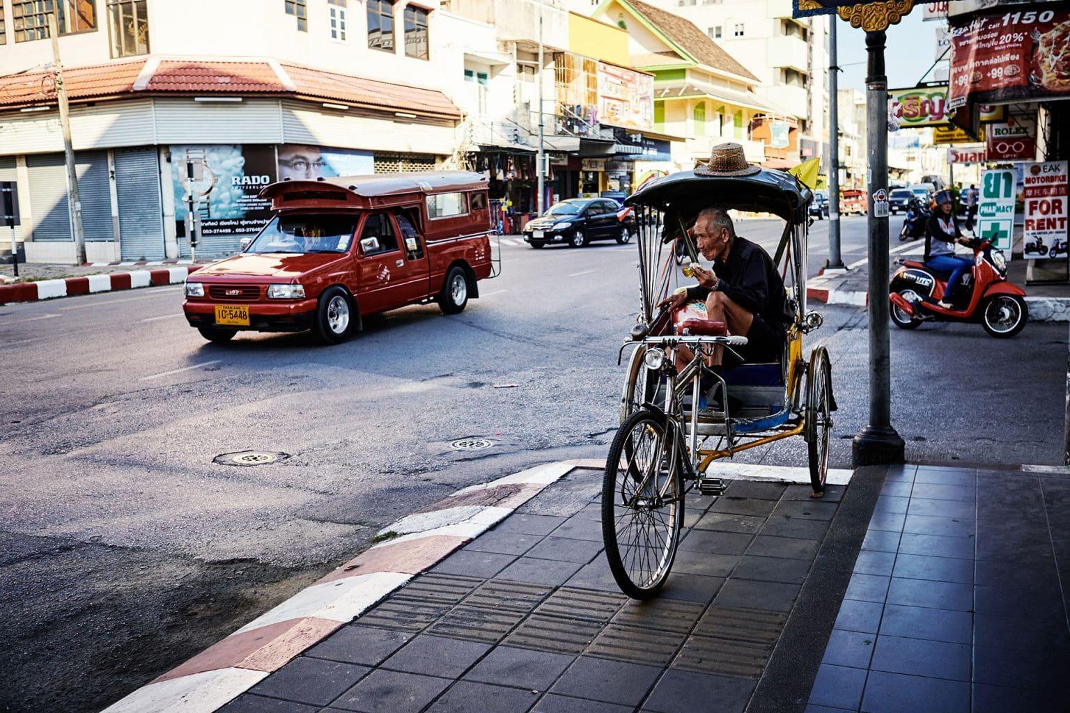 Street photography mit Fuji Kameras in Nordthailand
