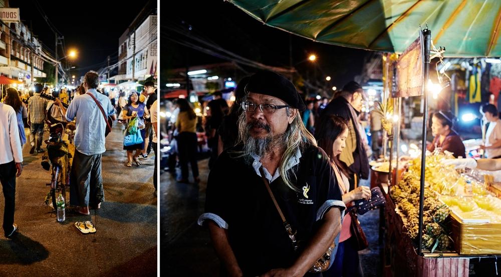 Klaus Gruber, mit der Fuji X-T1 in Chiang Mai Nordthailand