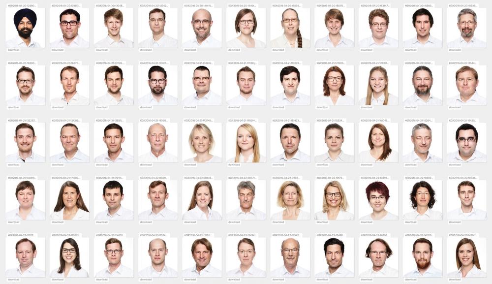 Fotograf Fürth News, Corporate Headshots beim Kunden