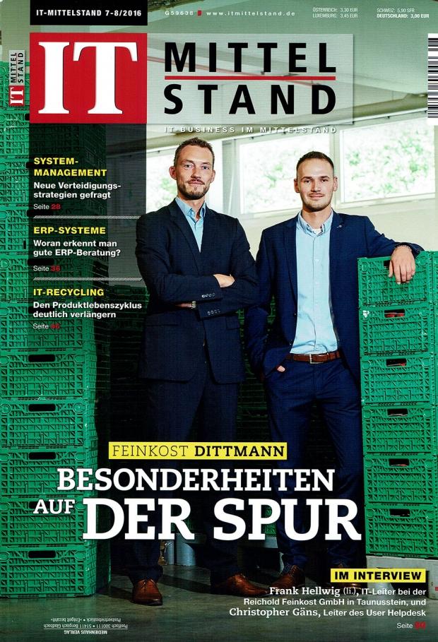 Fotograf Fürth-Veröffentlichung im Magazin IT Mittelstand