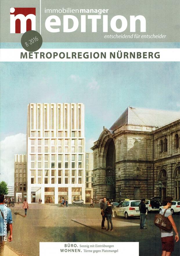 Fotograf Fürth-Veröffentlichung im Immobilien Manager Magazin