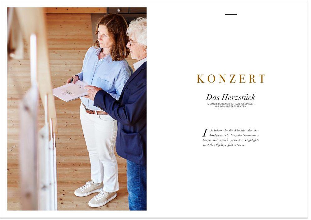 Imagefotografie für das Unternehmen Immoblilien Kontor in Freystadt