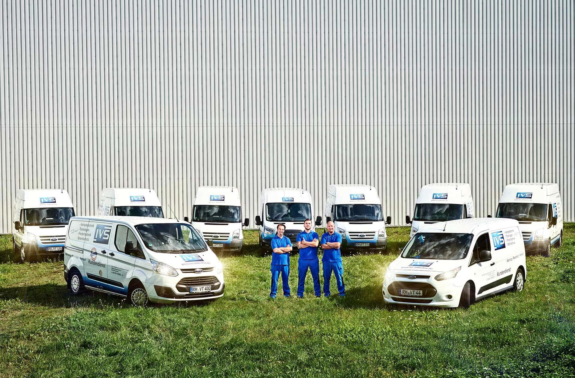 Imagefotografie für das Unternehmen IVS Industrietore & Verladetechnik GmbH