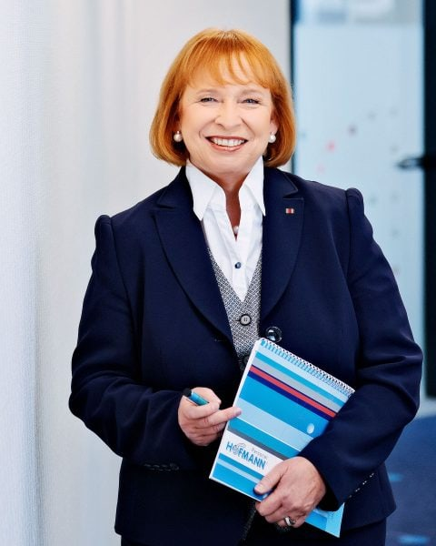 Business Portraits Ingrid Hofmann, Hofmann Zeitarbeit