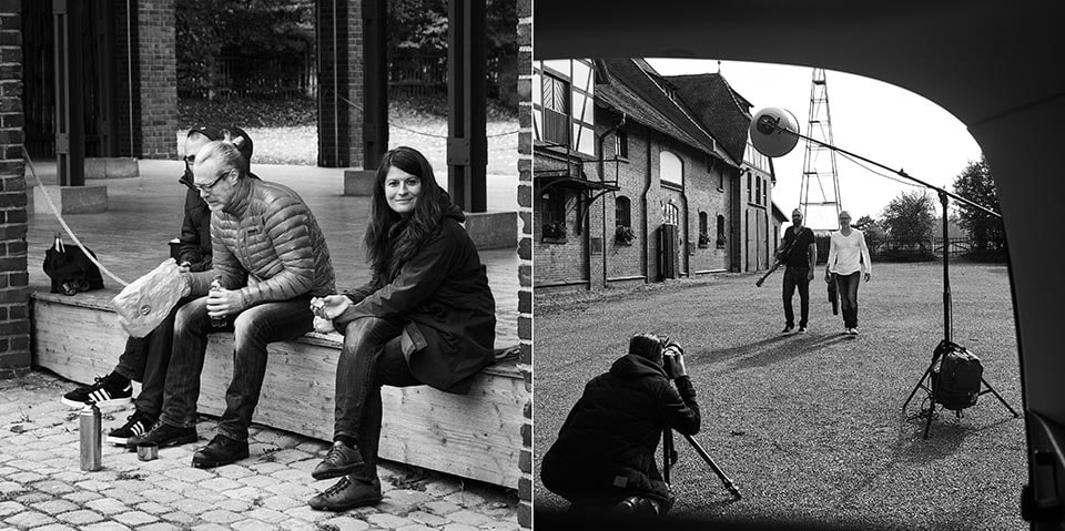 Fotograf Fürth, Musiker Portraits mit der Band Big Time - Making of