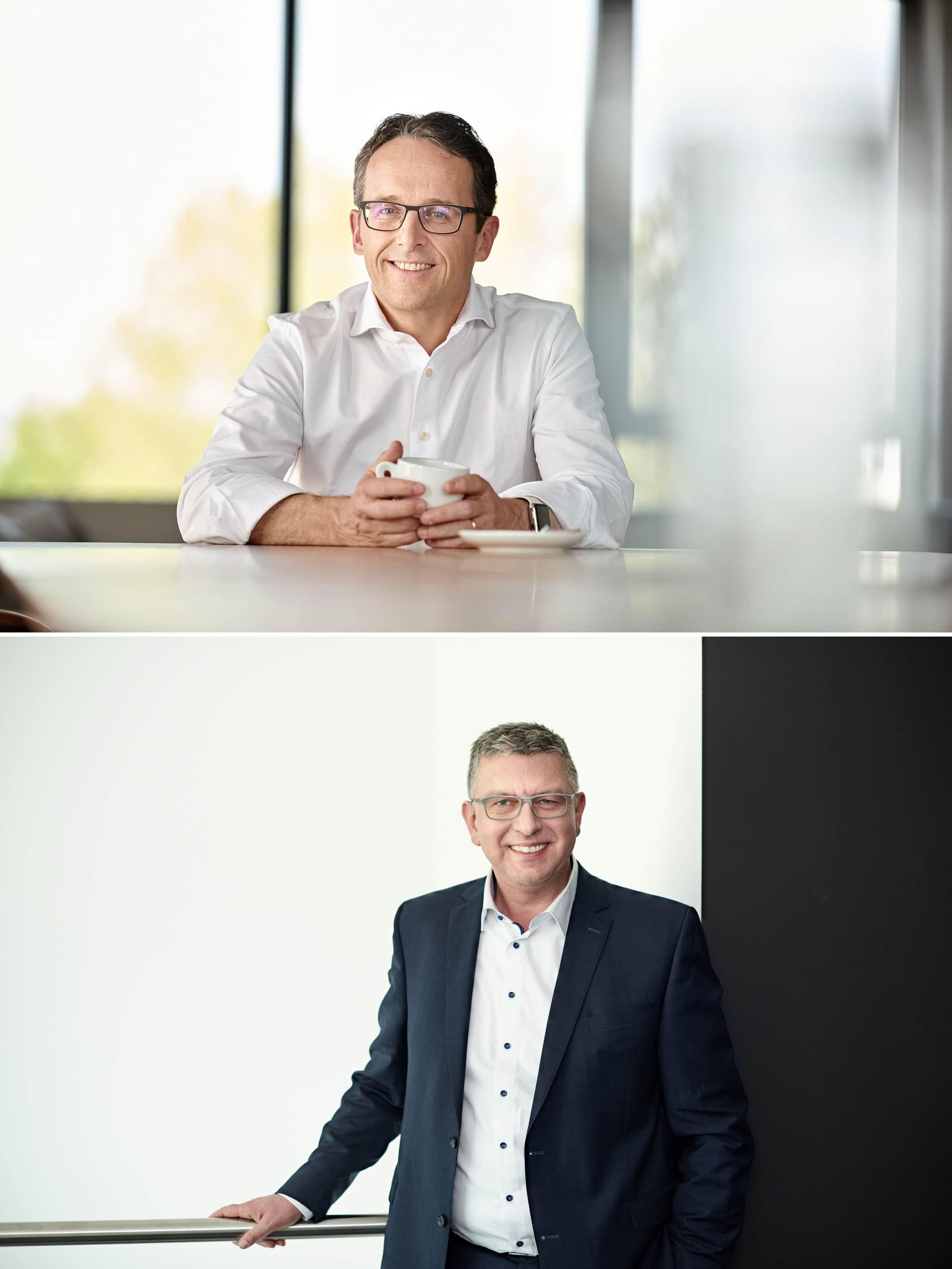 Mitarbeiterportraits für KSW Vermögensverwaltung Nürnberg Fürth