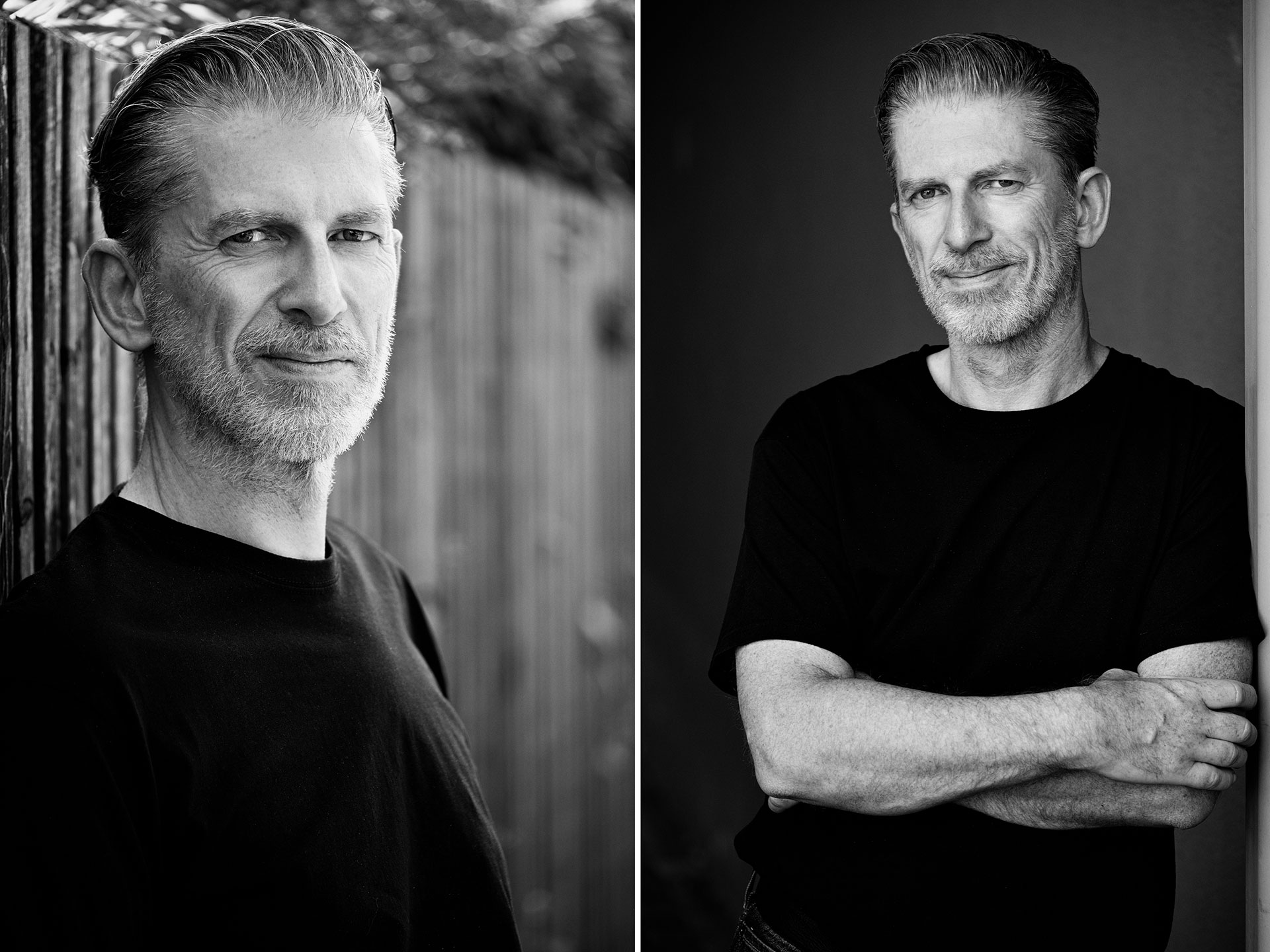 Portraitfotografie, Männerportraits in Schwarzweiss, Fotograf Fürth