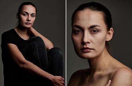 Frauenportraits – Portraitserie mit Stefanie