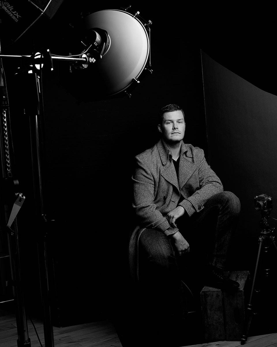 Künstlerportraits,Schauspielerfotos im Studio - Fotograf Fürth