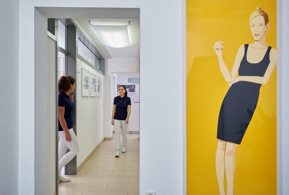 Fotograf Fürth, Fotos einer Zahnarztpraxis, Praxis Dr. Lösch in Nürnberg