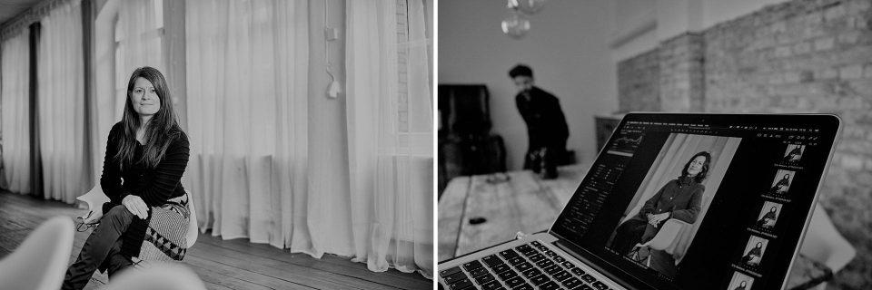 Fotograf Fürth, Making of beim Shooting für Barbara Kummel Immobilien in Neumarkt